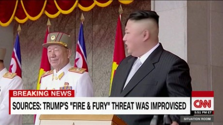 How will Kim react to Trump's 'fire and fury'?