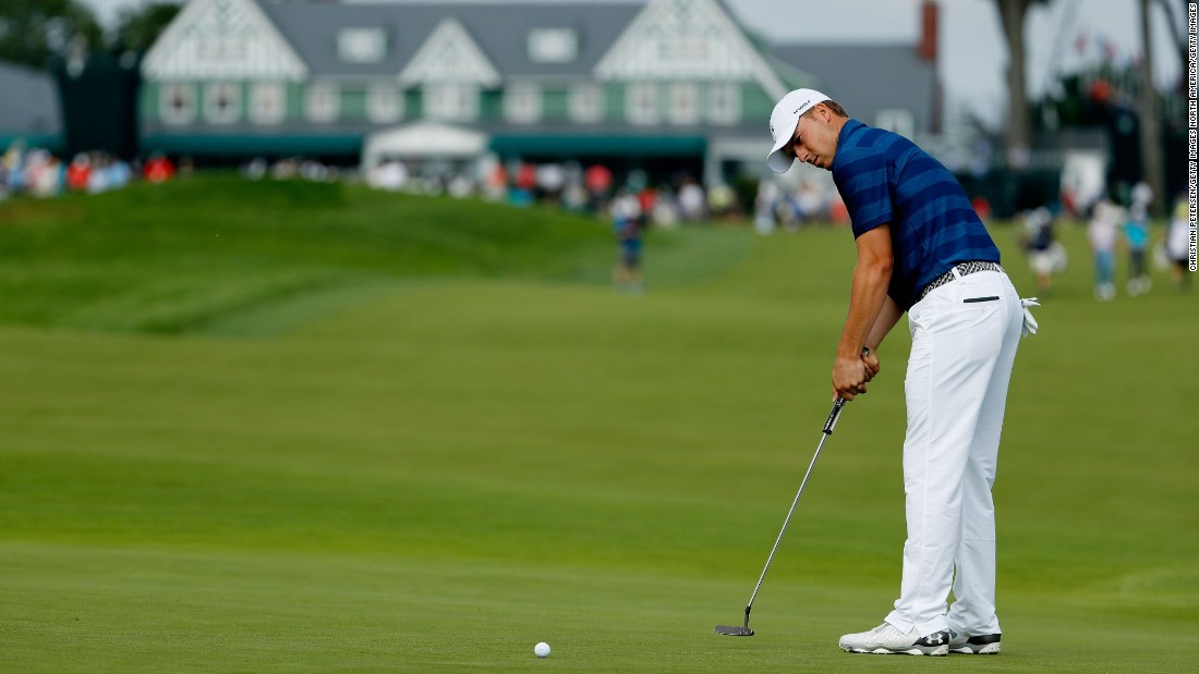 Occasionally loose off the tee, Spieth has developed a reputation for being nerveless on the greens.