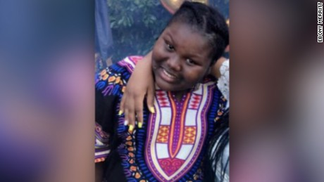 "(WCBS) An 11-year-old Bronx girl was severely burned when a 12-year-old girl poured boiling water on her face during a sleepover, police said. ""We're trying to keep her spirits up, talking to her,"" the victim's aunt, Lawrene Merritt told CBS2's Dave Carlin. Lawrene said her 11-year-old niece, Jamoneisha Merritt, has not been given a mirror to see the severe damage to her face and neck. Police said Jamoneisha was intentionally scald at a sleepover while surrounded by young girls she considered her friends."