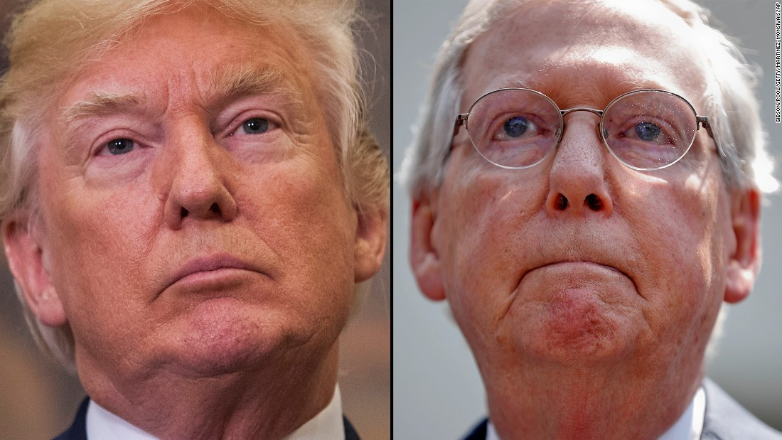 Anderson Cooper breaks down Trump's flip-flop on McConnell