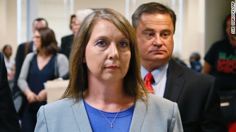 Betty Shelby, acquitted in 2016 shooting, back in law enforcement