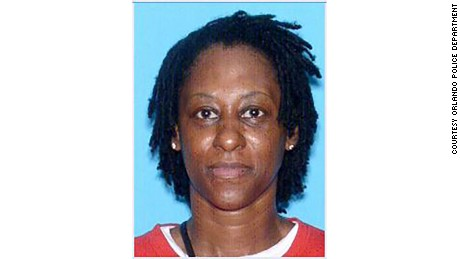 The mugshot of Deborah St. Charles, courtesy of Orlando Police.