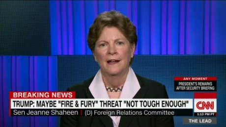 lead shaheen north korea donald trump armed services guam jake tapper _00003824.jpg