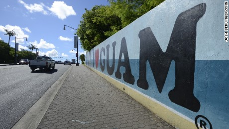 Guam has been a US  territory for more than 100 years.