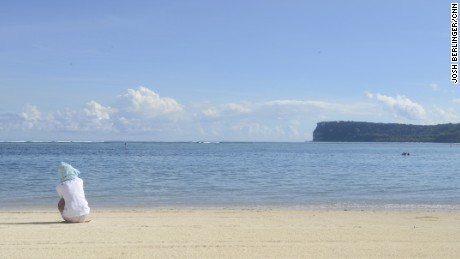 Guam, with its white-sand beaches, is a popular tourist destination.