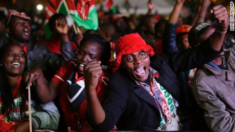 Kenya's election commission announced Friday that President Uhuru Kenyatta has won a second term. Opposition candidate Raila Odinga claimed the vote was rigged.