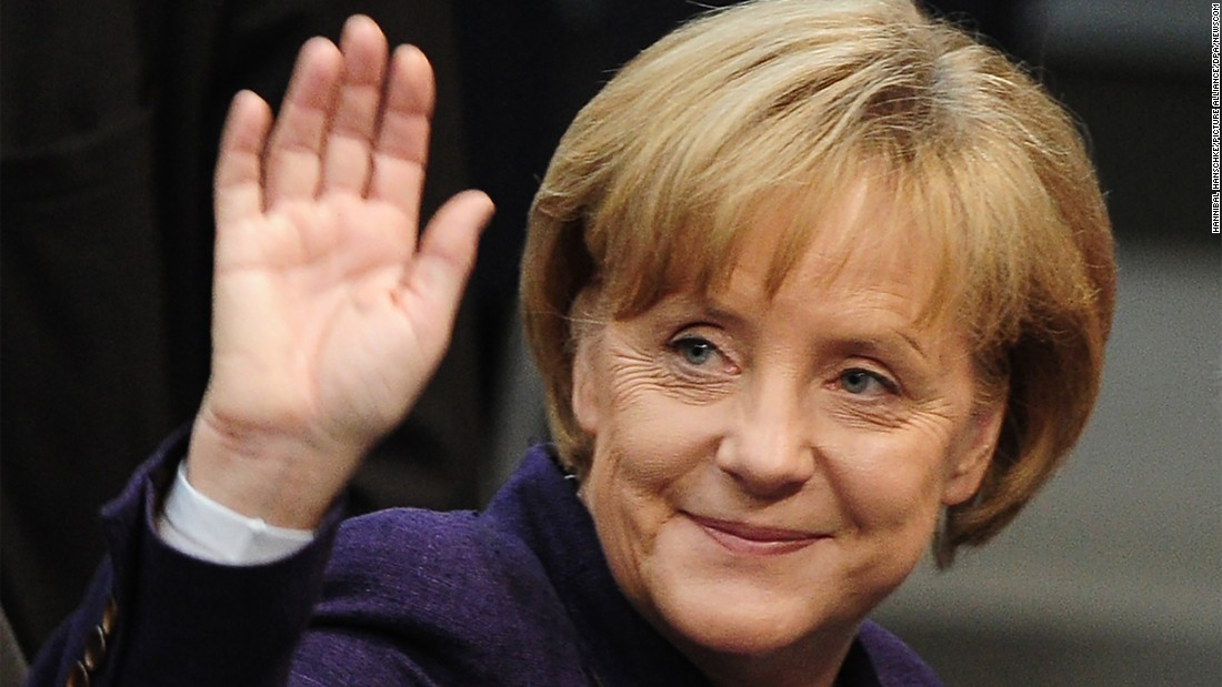 Angela Merkel is seeking her fourth term as German Chancellor, an office she's held since 2005. See more photos of her through the years.