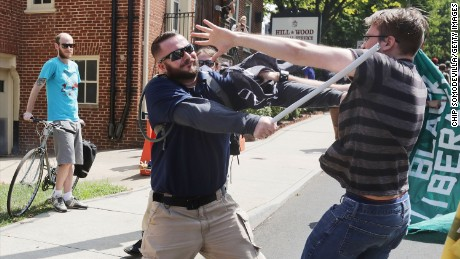 Charlottesville suing to stop private militias at future rallies