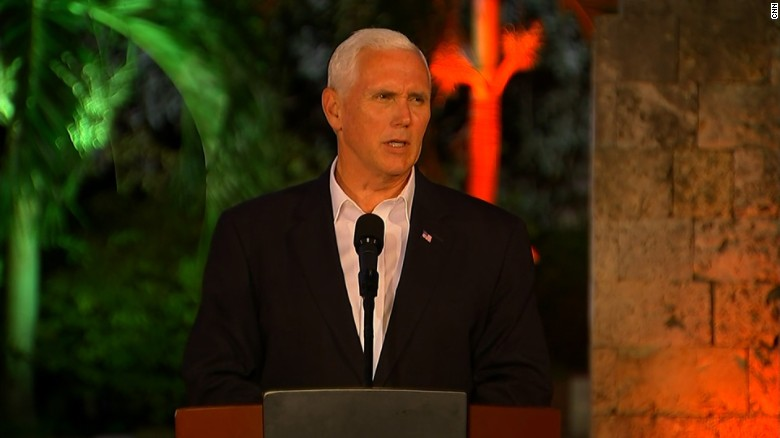 Pence: We have no tolerance for hate, violence