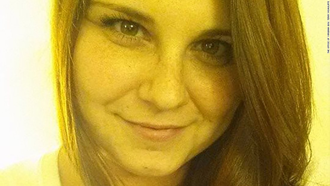 Heather Heyer, 32, was killed in Charlottesville last August when a car slammed into a crowd of people protesting against hatred.