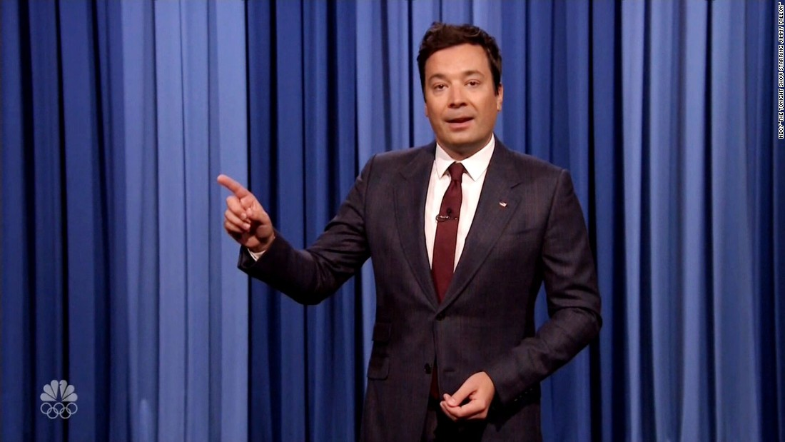 Tearful Jimmy Fallon gets serious about racism - CNN