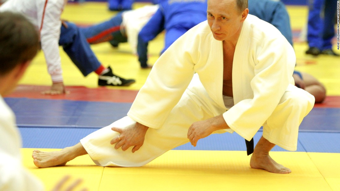 Russian President Vladimir Putin is just one of a host of well-known names to have a penchant for judo.