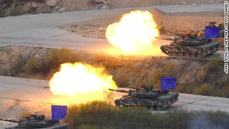 Do US-South Korean war games risk escalating North Korea crisis?
