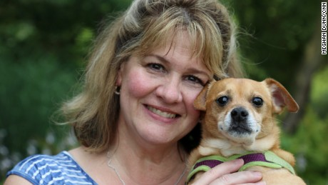 CNN Hero Michele Allen runs Monkey's House, a hospice for elderly and dying dogs, on her six-acre New Jersey farm.