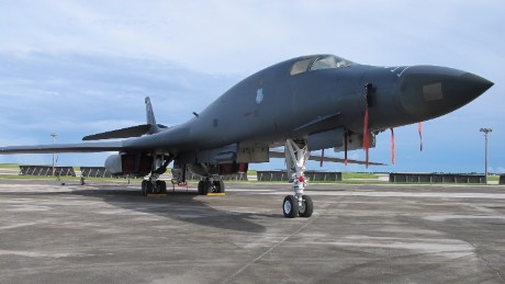 US Air Force stays prepared in Guam