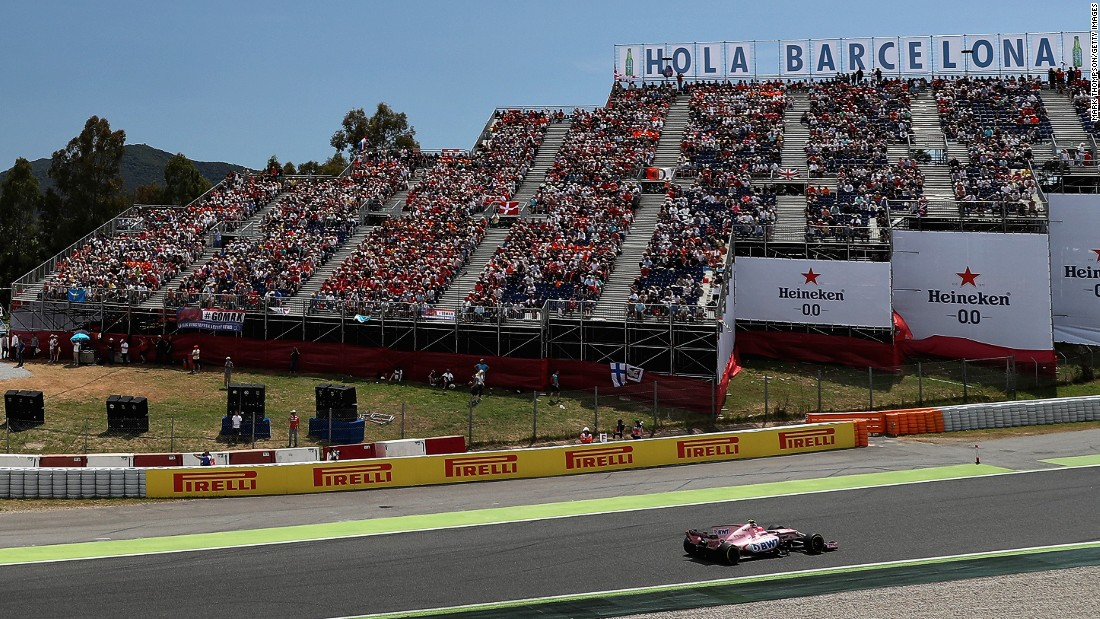 This season, Ocon has a highest finish of fifth which he achieved at the Spanish Grand Prix in May.
