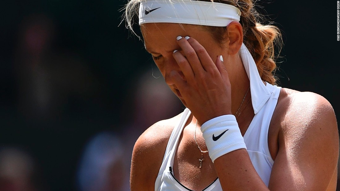 Injury wasn't the issue for Victoria Azarenka this year. After she gave birth in December 2016, Azarenka returned to competition in June.