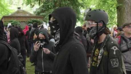 A look at the violent anarchist group Antifa