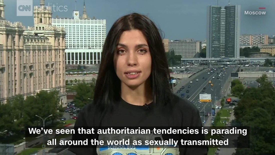 Pussy Riot's Nadya Tolokonnikova: Authoritarianism is spreading like 'sexually transmitted diseases'