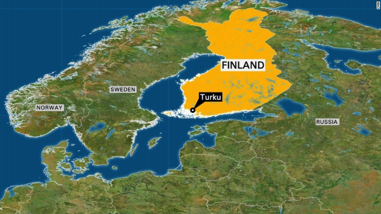 Police: Several knifed in attack in Finland