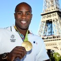 teddy riner eiffel tower