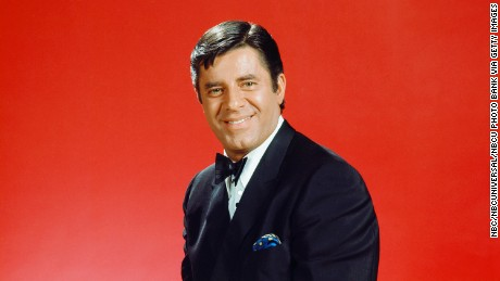 "KRAFT MUSIC HALL -- ""Friars Club Roast of Jerry Lewis"" Episode 1317 -- Pictured: Roastee Jerry Lewis -- (Photo by: NBC/NBCU Photo Bank via Getty Images)"