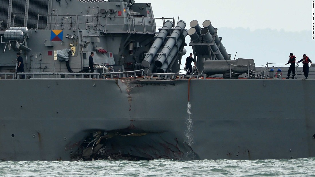 Spate of US Navy accidents in Asia since January