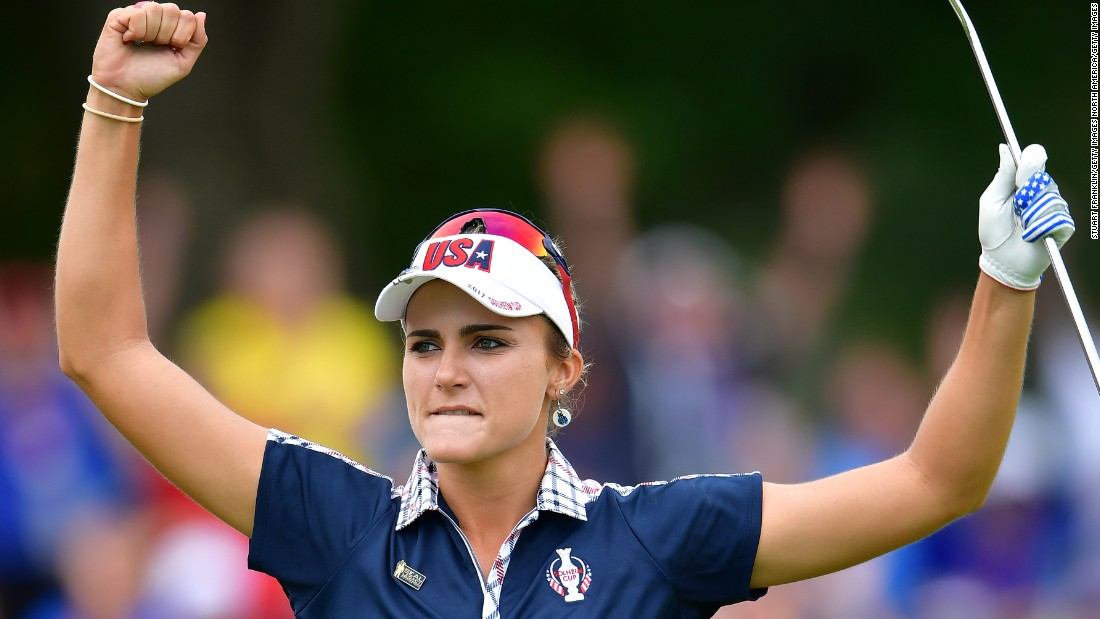 USA's Lexi Thompson said she had the 'weirdest round' of her career after the world No. 2 shot two-over-par on the front nine, before a stunning turnaround saw her register eight-under-par on the back nine.