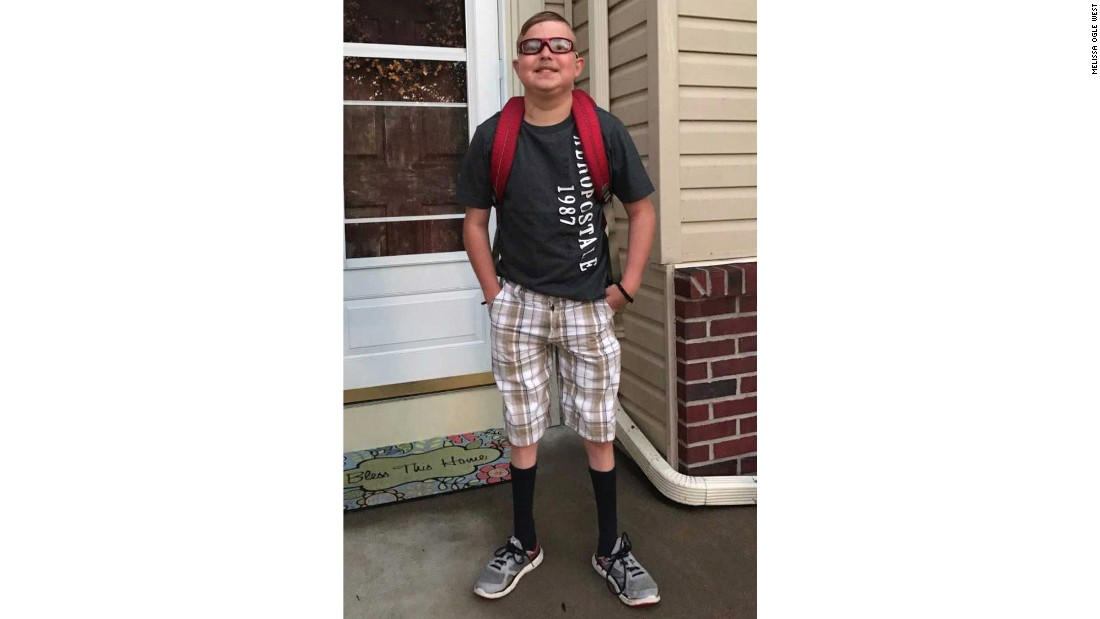Boy with heart transplant dies on first day of school