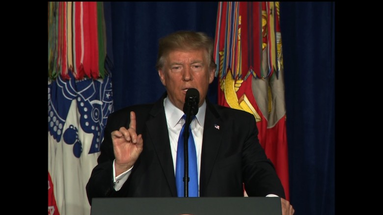 Trump on Afghanistan plan: 'Attack we will'