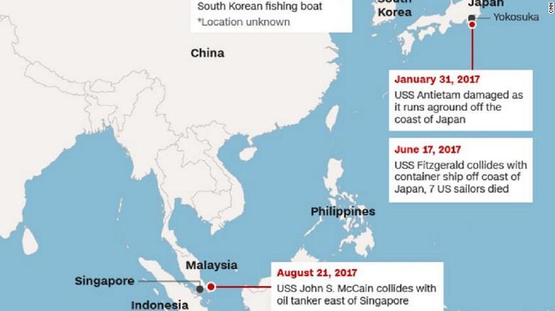 Us navy ship locations map