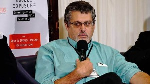 Glenn Simpson, Partner of Fusion GPS, speaks on a panel at the Double Exposure Investigative Film Festival and Symposium on October 7, 2016 in Washington. http://doubleexposurefestival.com