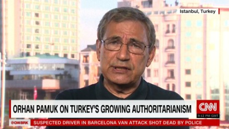 Nobel laureate on Erdogan's Turkey