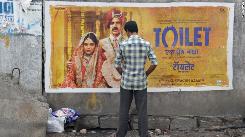 Bollywood film spotlights open defecation in India