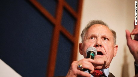 GOP Senate candidate Roy Moore has said he doesn't believe Obama is a natural-born citizen