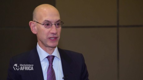 Marketplace Africa NBA commissioner Adam Silver talks Econet B_00001929