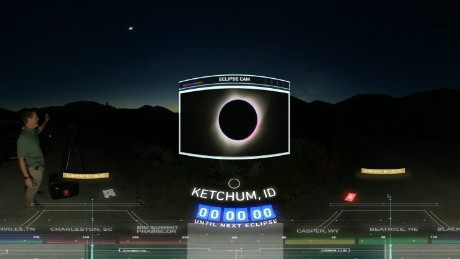 Best Moments of the Eclipse in 360°