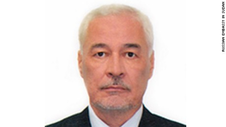 Russian Ambassador to Sudan Migayas Shirinsky Image from his official bio