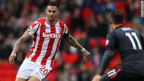 Geoff Cameron talks Stoke City and UCL