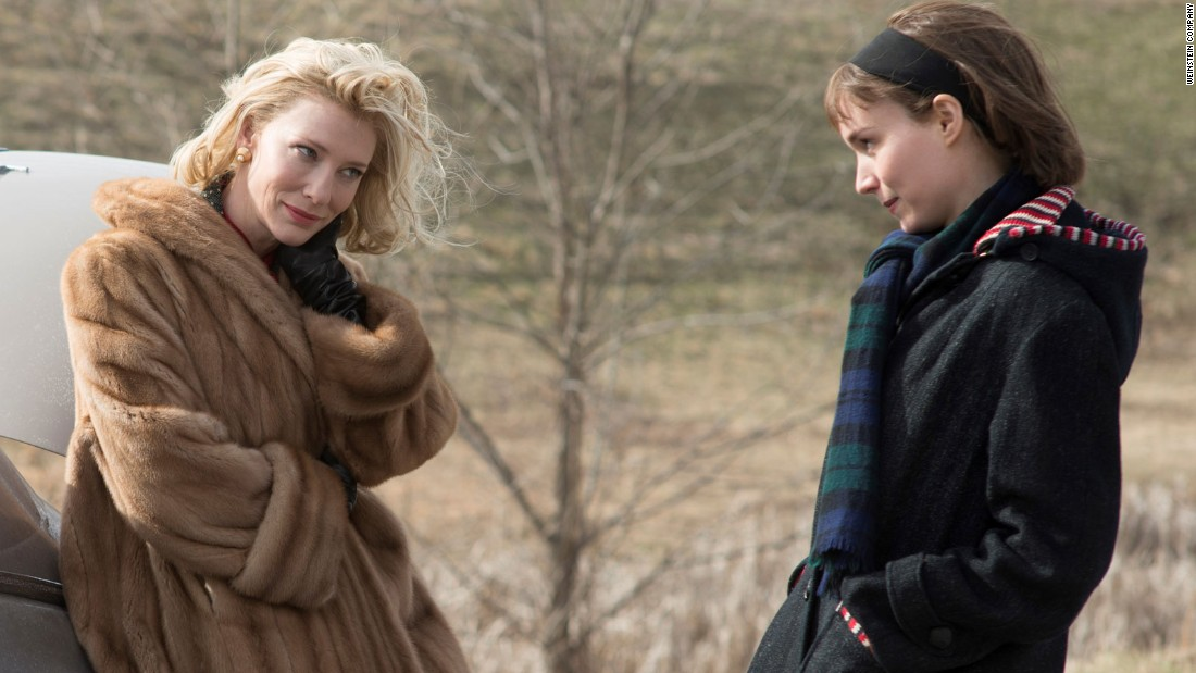 "<strong>""Carol"": </strong>Cate Blanchett and Rooney Mara star in this critically acclaimed film about a pair of women who embark on a forbidden relationship in the 1950s. <strong>(Netflix) </strong>"