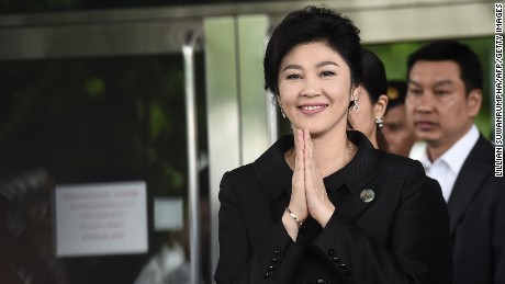 Former Thai PM Yingluck Shinawatra has 'fled country' ahead of trial verdict