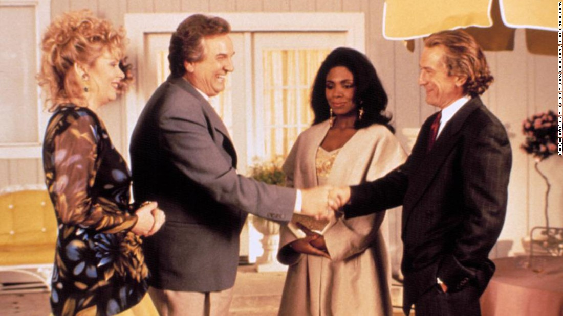 "<strong>""Mistress"": </strong>Jean Smart, Danny Aiello, Sheryl Lee Ralph and Robert De Niro star in this film about a screenwriter trying to accommodate the requests of his film's financial backers. <strong>(Amazon Prime, Hulu) </strong>"