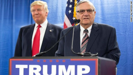 Trump defends Arpaio pardon, says timing was intended to draw attention