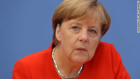 German Chancellor Angela Merkel has demanded the release of German citizens in Turkish prisons.
