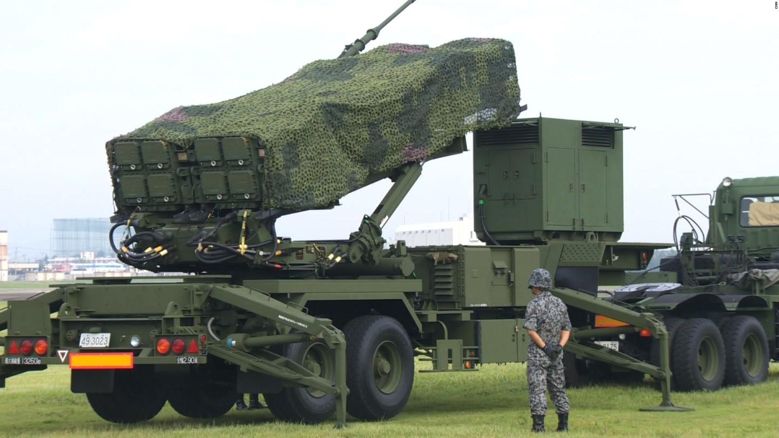 S 300 missile systems vs patriot - This Military Base Is Training To Shoot Down A North Korean Nuclear Missile Cnn