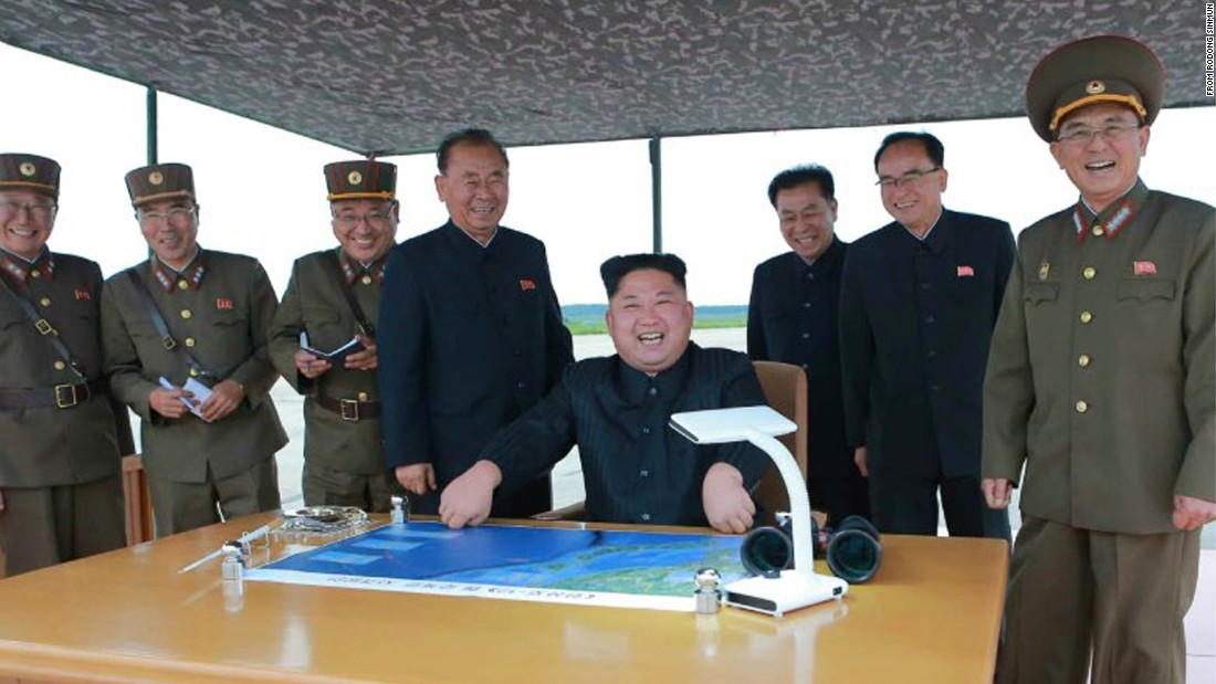 Next target Guam, North Korea says