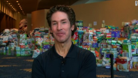 Joel Osteen responds to critics on Harvey