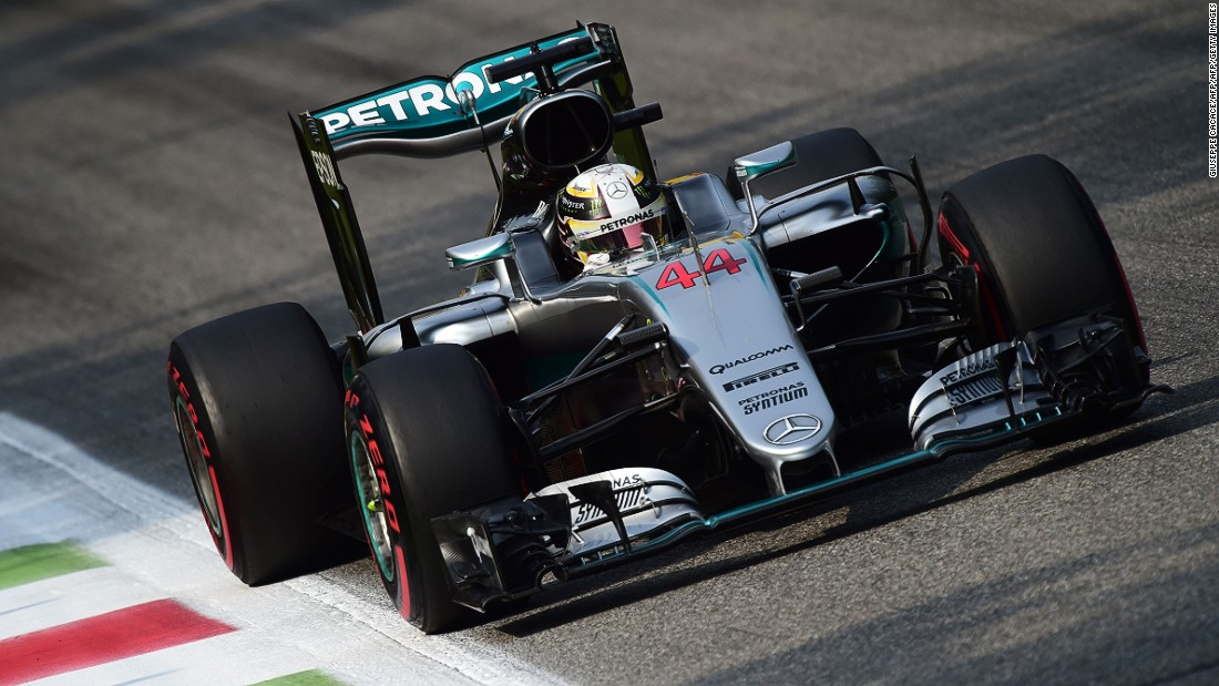 Mercedes driver Lewis Hamilton has also won three times at Monza -- in 2012, 2014 and 2015.