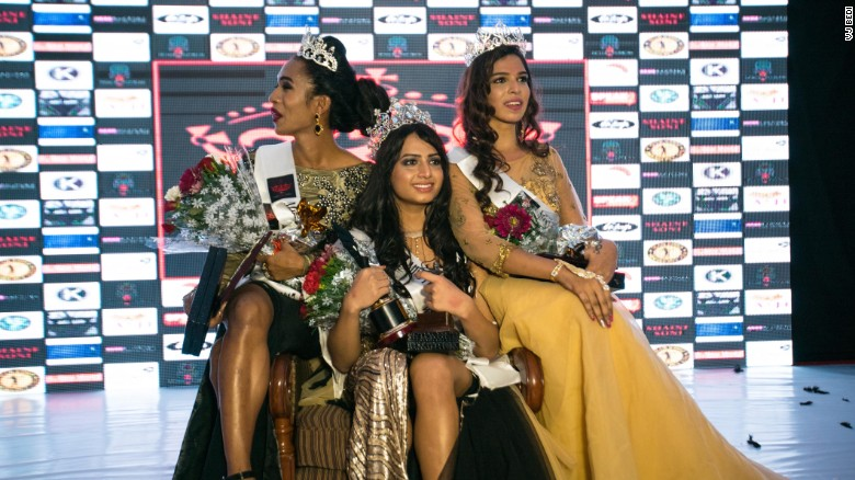 India's first transgender beauty pageant