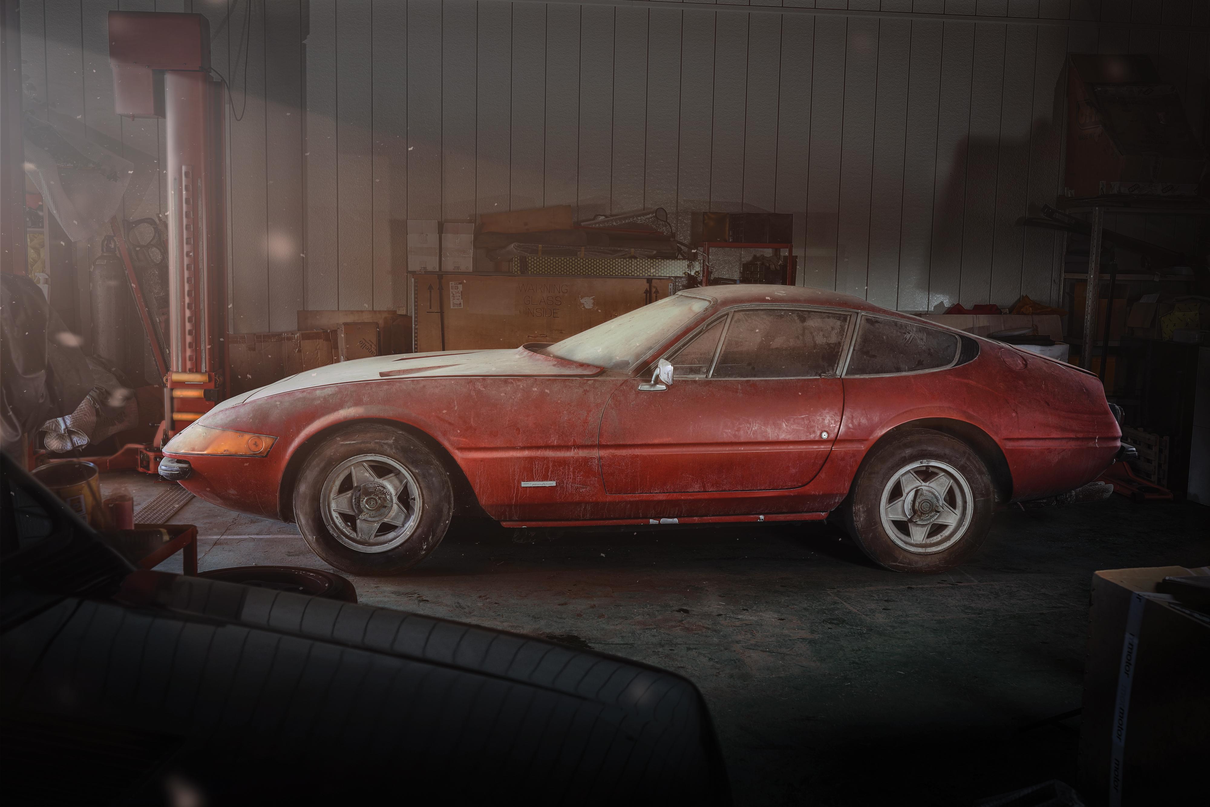Rare Barn Find Ferrari Sells For 2m Cnn Style